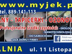 MYJEK - Profesjonalne środki czystości. EKOLOGICZNE - NANOTECHNOLOGIA