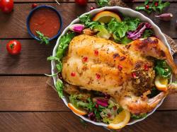 Nadziewana pierś kurczaka