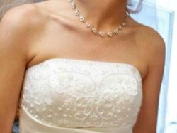 Naprawdę ładna suknia ślubna Lugonovias 6121 WARTO