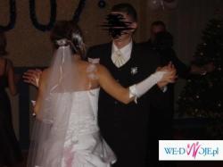 Nie zniszczoną, śliczną  suknię ślubną sprzedam - pilne