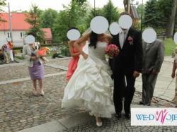 *****Niebanalna suknia Atelier Diagonal 2847 suknia ślubna ecru +halka*****