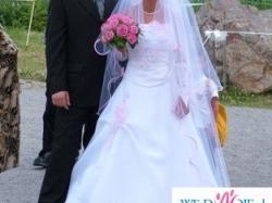 Niedroga suknia ślubna+ dodatki!