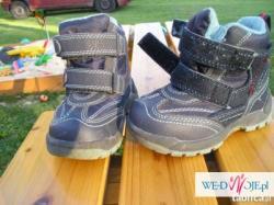 Niemieckie buty na zimę dla chłopczyka,ciepłe,rozmiar 22