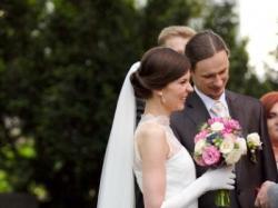 Niepospolita romantyczna suknia ślubna