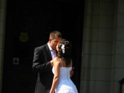 Niepowtarzalna, delikatna, zwiewna suknia ślubna, rozm.38