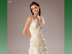 Niepowtarzalna hiszpańska suknia ślubna White One model 157