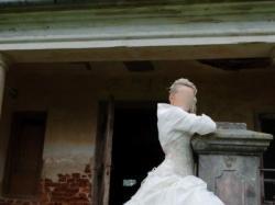 Niepowtarzalna, oryginalana i kobieca suknia ślubna Farage
