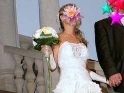 Niepowtarzalna, przyciągającą uwagę suknia ślubna