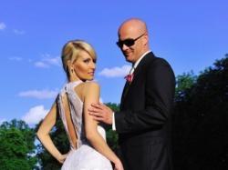 niepowtarzalna, seksowna suknia ślubna 34-36