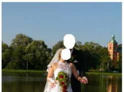 Niepowtarzalna śliczna i orginalna suknia ślubna