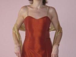 niepowtarzalna śliczna wieczorowa suknia tanio 200 zł