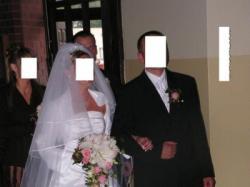 niepowtarzalna ślubna suknia ślubna