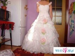 Niepowtarzalna Suknia Ślubna !! DO CZYSZCZENIA!! PILNIE SPRZEDAM!!
