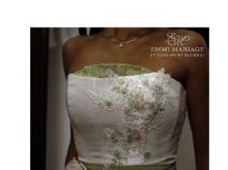 Niepowtarzalna suknia ślubna Emmi Mariage, model Dafne
