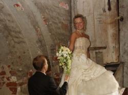 Niepowtarzalna suknia ślubna FARAGE!!!