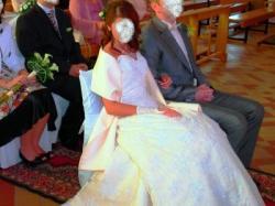 Niepowtarzalna suknia ślubna firmy Sincerity Bridal r.36