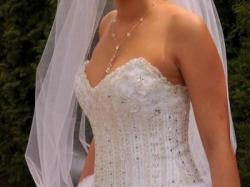 Niepowtarzalna suknia ślubna Lisa Ferrera