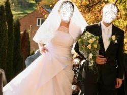Niepowtarzalna suknia ślubna mojego projektu