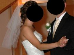Niepowtarzalna suknia ślubna MONA