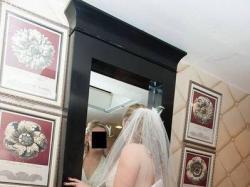 Niepowtarzalna suknia ślubna OLEG CASSINI. STAN IDEALNY