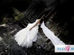 Niepowtarzalna Suknia ślubna Papilio 719 b - naprawdę warto !!!