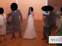 Niepowtarzalna suknia ślubna r. 34/36