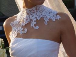 Niepowtarzalna suknia ślubna, rozm.36/38 TANIO!