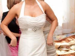 Niepowtarzalna suknia ślubna-rozm. 38 – warto!