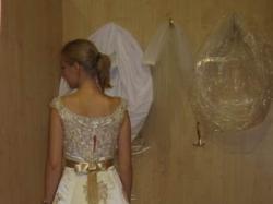 niepowtarzalna suknia ślubna z Francji