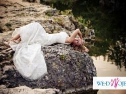 Niepowtarzalna suknia ślubna z koronki!!!