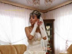 Niepowtarzalna Suknia Ślubna z rozcięciem na nodze CYMBELINE