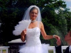 Niepowtarzalna Suknia Ślubna z TIULU