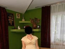 niepowtarzalna suknia w kolorze capuchino 42/44