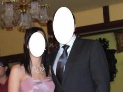 niepowtarzalna suknia wieczorowa - bolerko i torebka GRATIS
