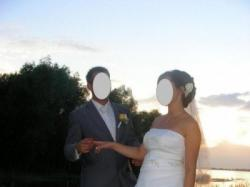 Nietuzinkowa suknia ślubna w kolorze ecru rozmiar 38-42
