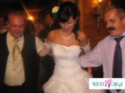 Nietypowa,wyjątkowa  suknia ślubna  z firmy Sposabella, Model408