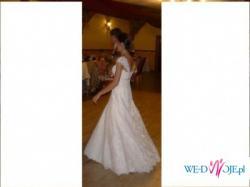 NIEZAPOMNIANA SUKNIA La Sposa-model 2009 FLORIDA !!!!!!PIĘKNA!!!!!(OPOLE,BRZEG)