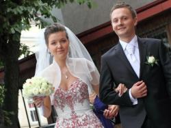 Niezwykła i niepowtarzalna suknia ślubna rozm. 36-42