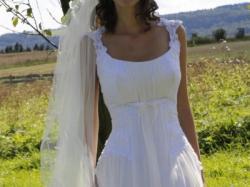 Niezwykła, romantyczna, piękna suknia ślubna Paplio 1009