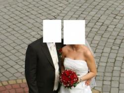 Niezwykła suknia ślubna firmy Eddy K.