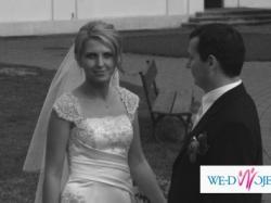 Niezwykle kobieca suknia ślubna