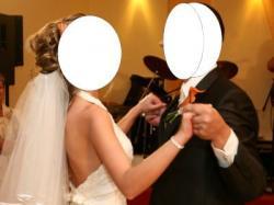 Niezwykle subtelna i kobieca suknia ślubna z koronki