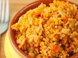 Niskotłuszczowe risotto z krewetkami