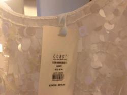 Nowa elegancka sukienka ślubna marki Coast rozmiar 36
