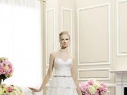 NOWA koronkowa suknia ślubna  MOONLIGHT H1261 r. 40 + gratisy