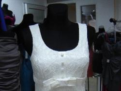 NOWA sukienka koronkowa ecru rozmiary 34/36