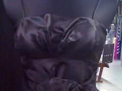 Nowa sukienka na studniówkę!mała,czarna z uroczą kokardką! Tanio!