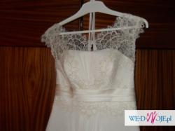 Nowa suknia ślubna firmy NABLA model Florella w kolorze ecru
