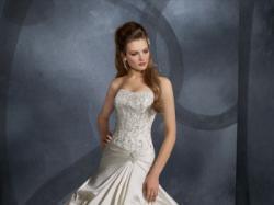 Nowa suknia ślubna MORI LEE model 2906 ivory tren kryształki