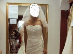 NOWA suknia ślubna projektu U. Mateja  model 1005